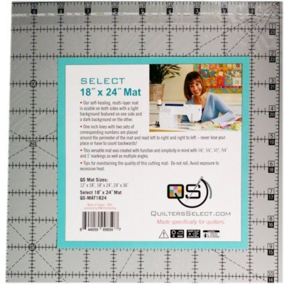 Quilters Select 18 x 24 cutting mat `
