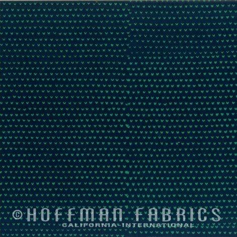 102-90-Spruce Hoffman Hand Dyed Batiks `