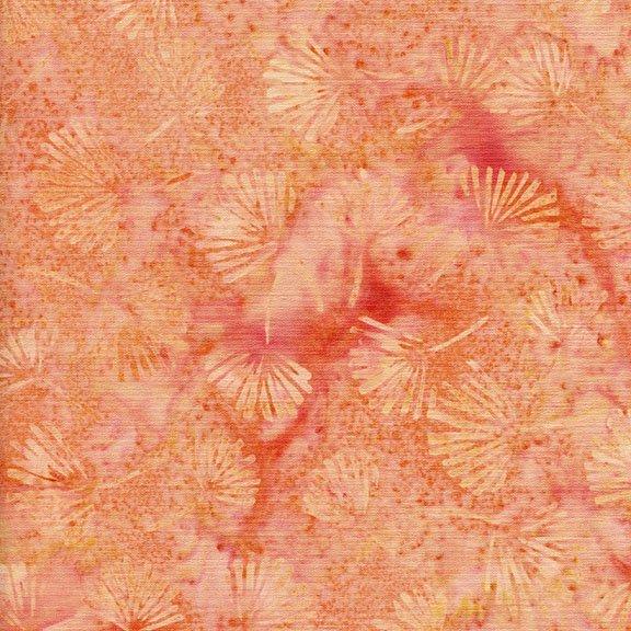 Batik Sakura Ginko Leaf 111714310 Island Batiks `