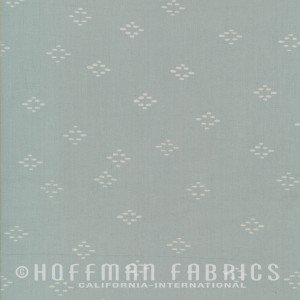 116-483 Fog Hoffman Batik Indah Batiks - Diamonds in Fog `