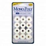 MonoPoly Prewound Bobbins Clear L-Style Superior Threads