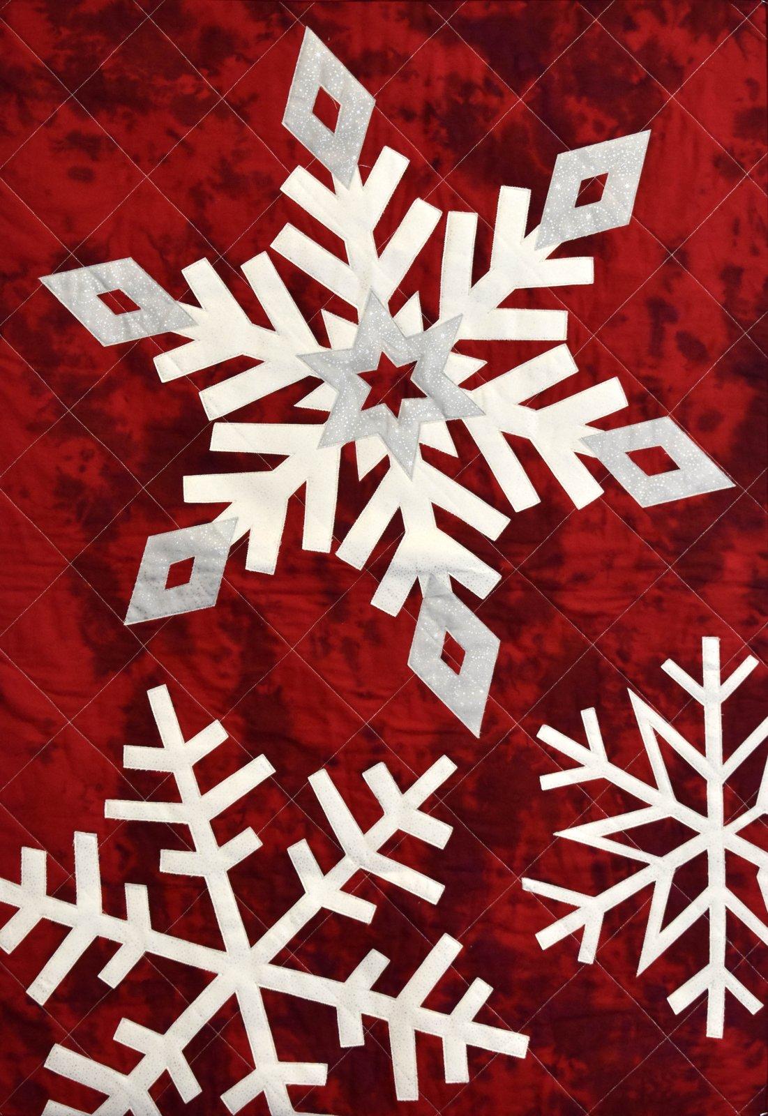 Christmas Snowflake Wallhanging Kit