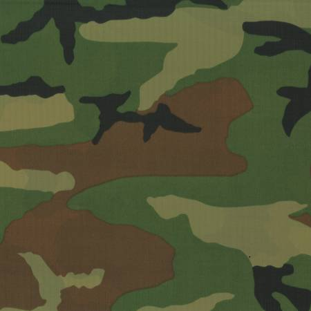 70 Denier Nylon pack cloth - camouflage