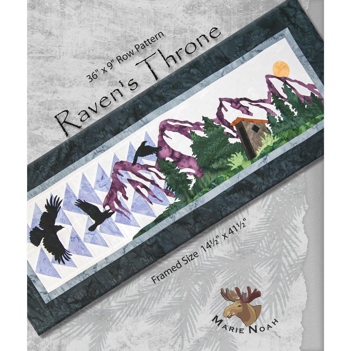 Northern Threads Raven's Throne Pattern 639912000770
