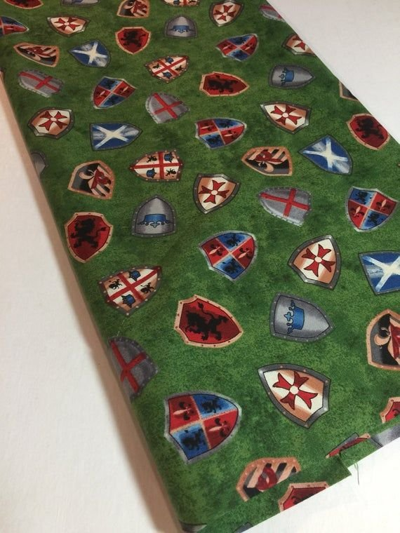 Exclusively Quilters Through The Ages Shields 4087-61264-6 Green '