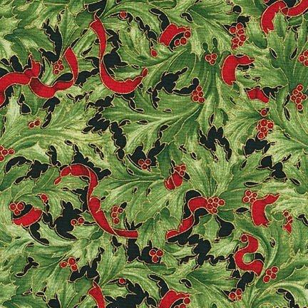 Holiday Flourish 9 Red Metallic ~