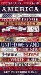 Timeless Treasures Stars & Stripes Pledge of Allegiance Panel C7044-USA '