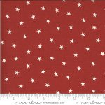 Moda Roselyn Scattered Star 14914-12 Warm Red