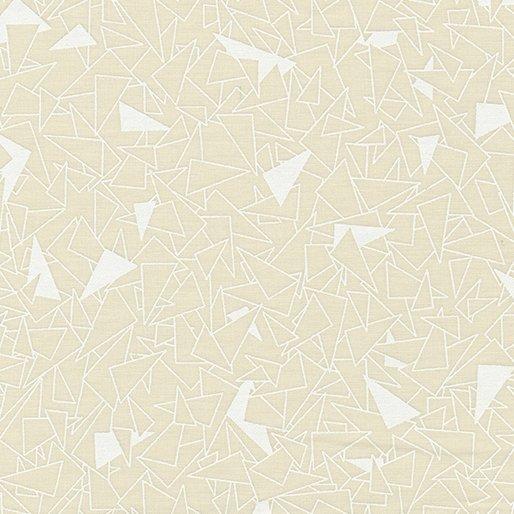 Contempo Triangles White/taupe `