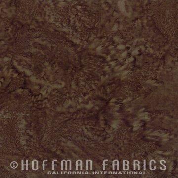 Hoffman Fabric 1895 514 Brown Sugar Hoffman Batik `