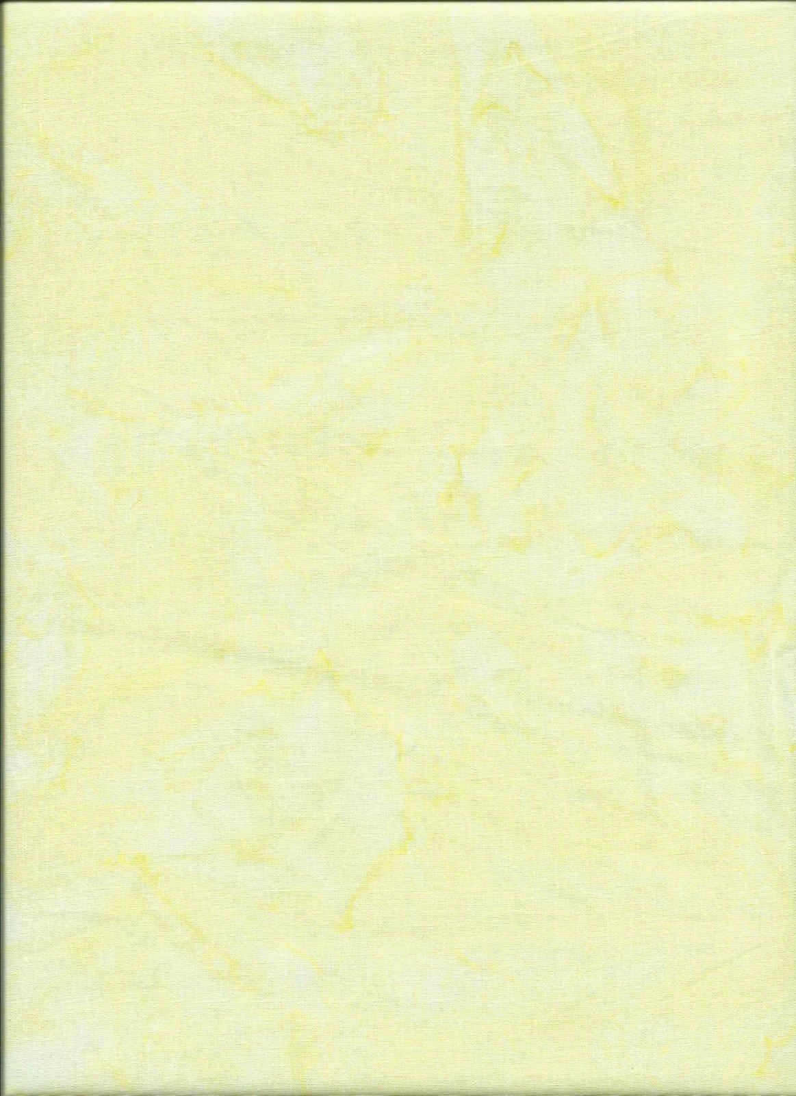 1895 Yellow Hoffman Batik `
