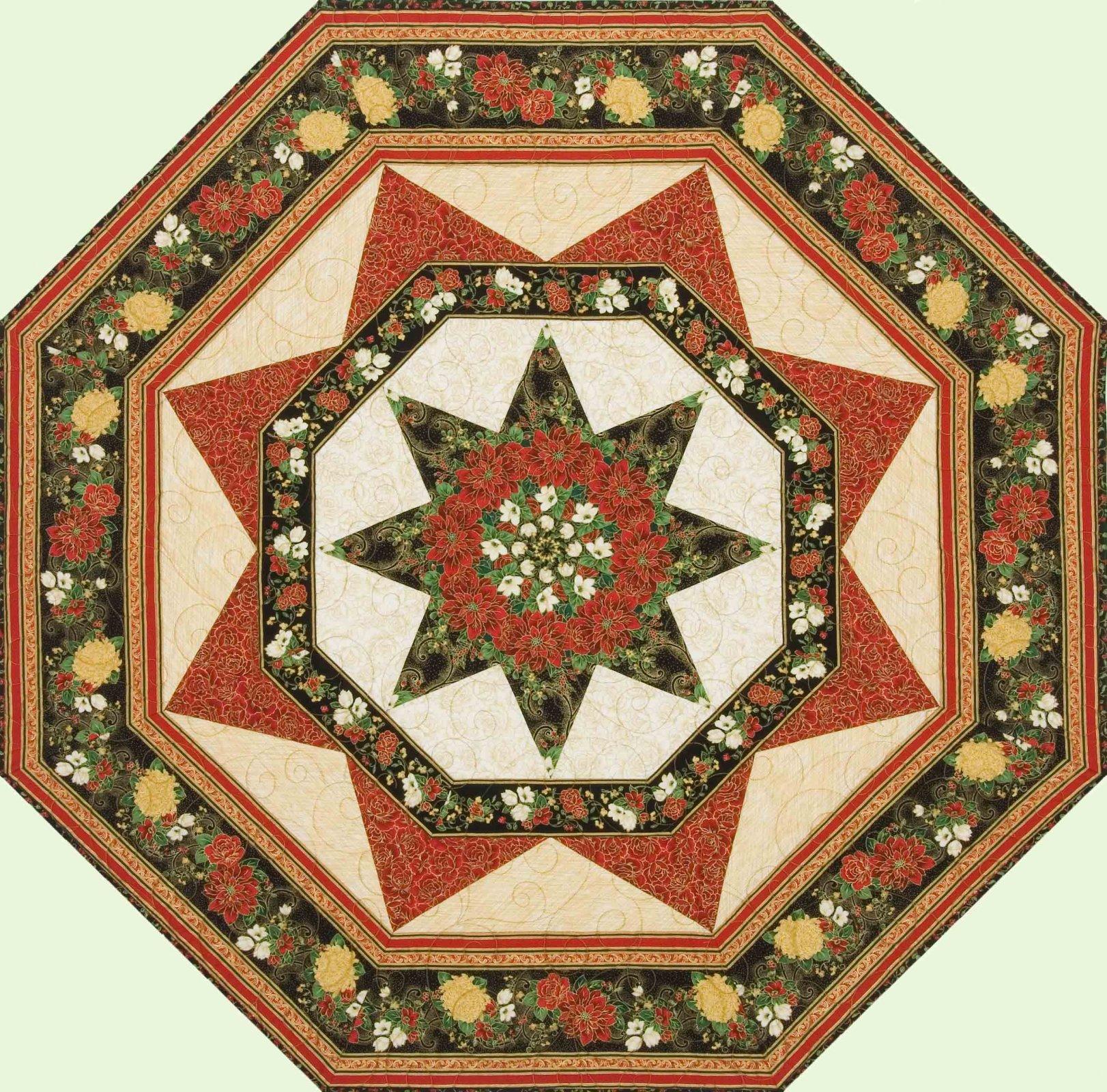 Star Blossom Quilt Pattern `