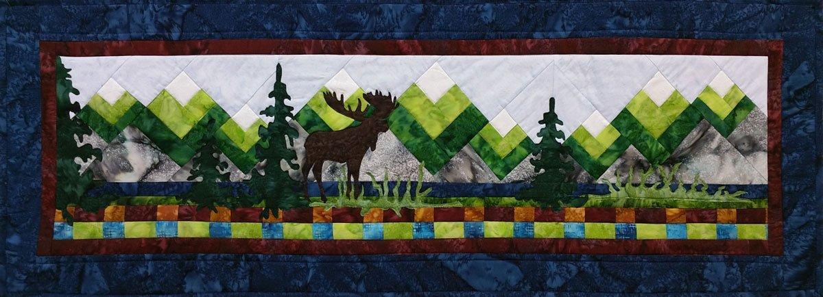 Moose Lake Laser Cut Applique Set Northern Threads +