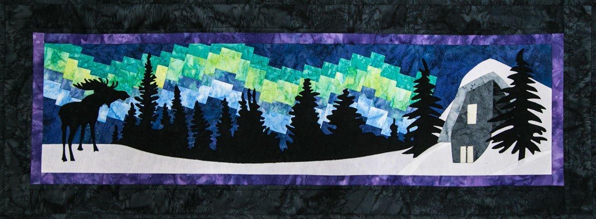 Borealis Ridge PreCut Laser Applique Set Northern Threads +