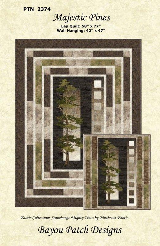 Mighty Pines Pattern by Helene Knott PTN 2374 >
