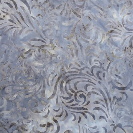 22035-449 Med Grey Flourish Wilmington Batiks `
