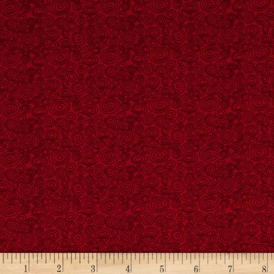 Bear Essentials 3 Red Ellipse Rings EES3664RV P&B Textiles '