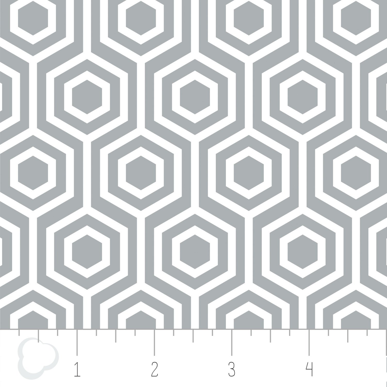Camelot Fabrics Honeycomb Flannel  4150009B-02 Gray '