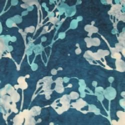 Hoffman Fabrics Q2188-317 Dot Foliage Macaw Hoffman Batik `