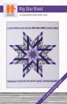 Big Star Braid Quilt Pattern HDS061 `