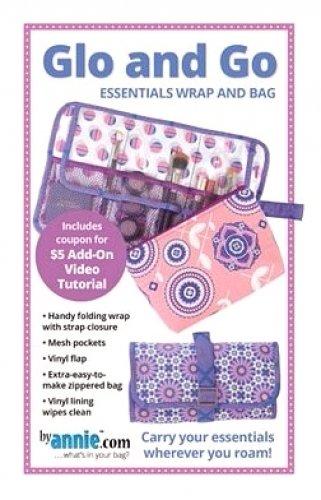 Glo and Go Make-up Bag Pattern PBA269 `