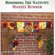 Honoring the Nativity Mantle Runner Pattern