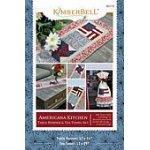 Americana Kitchen Table Runner & Tea Towel Set KD110 `
