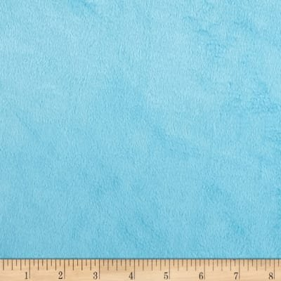 Michael Miller Silky Solid Minky SMS7580-TURQUOISE `