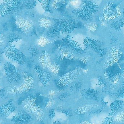Robert Kaufman Winters Grandeur 7 SRK-18383-63 Sky '