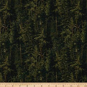 Northcott Naturescapes 21408-79 Dark Green `