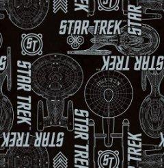 Camelot Star Trek Black `