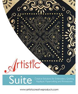 Artistic Suite V7.0 (Single Needle Embroidery Machines) 006ARTSUITEV7