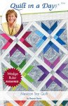 Mexican Star Quilt 1214 Pattern Quilt in a Day 1214 `
