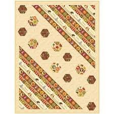 Hexie Harvest Quilt Pattern PTN2079 `
