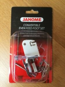 Janome Convertible Even Feed Foot  Set  Low Shank `