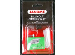 Janome Brush-Out Embroidery Kit `200383006
