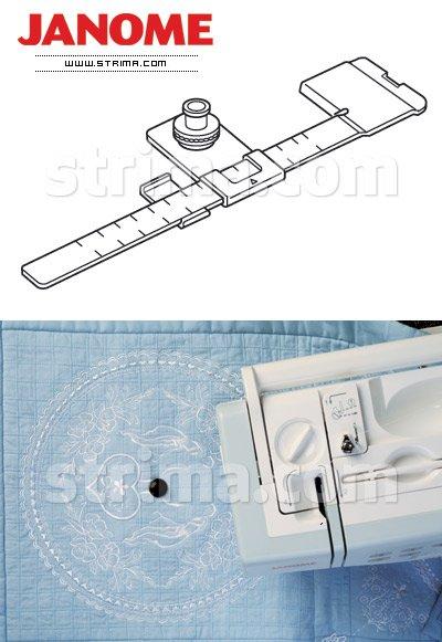 Janome Circular Sewing Attachment 200024109 `