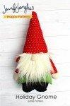 Holiday Gnome Softie Pattern PTN5678 `