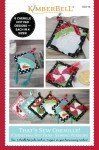 Kimberbell Thats Sew Chenille Christmas Hot Pads Sewing Version KD716 `