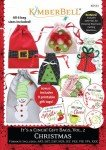 Kimberbell It's A Cinch -  Gift Bags, Volume 2: Christmas CD KD533 `