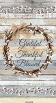 C7175 Cotton Blossom Grateful Panel Timeless Treasures `