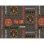Military Prints 1181-FF Firefighter '