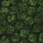 Batik Mid Summer Night 121830680 Aspen Leaves Spinach Island Batiks `