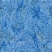 Batik Blenders BE23-D1 Wavy Dots Bluebird Island Batiks `