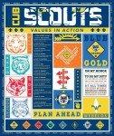 Riley Blake Designs Cub Scouts Panel P7206 `