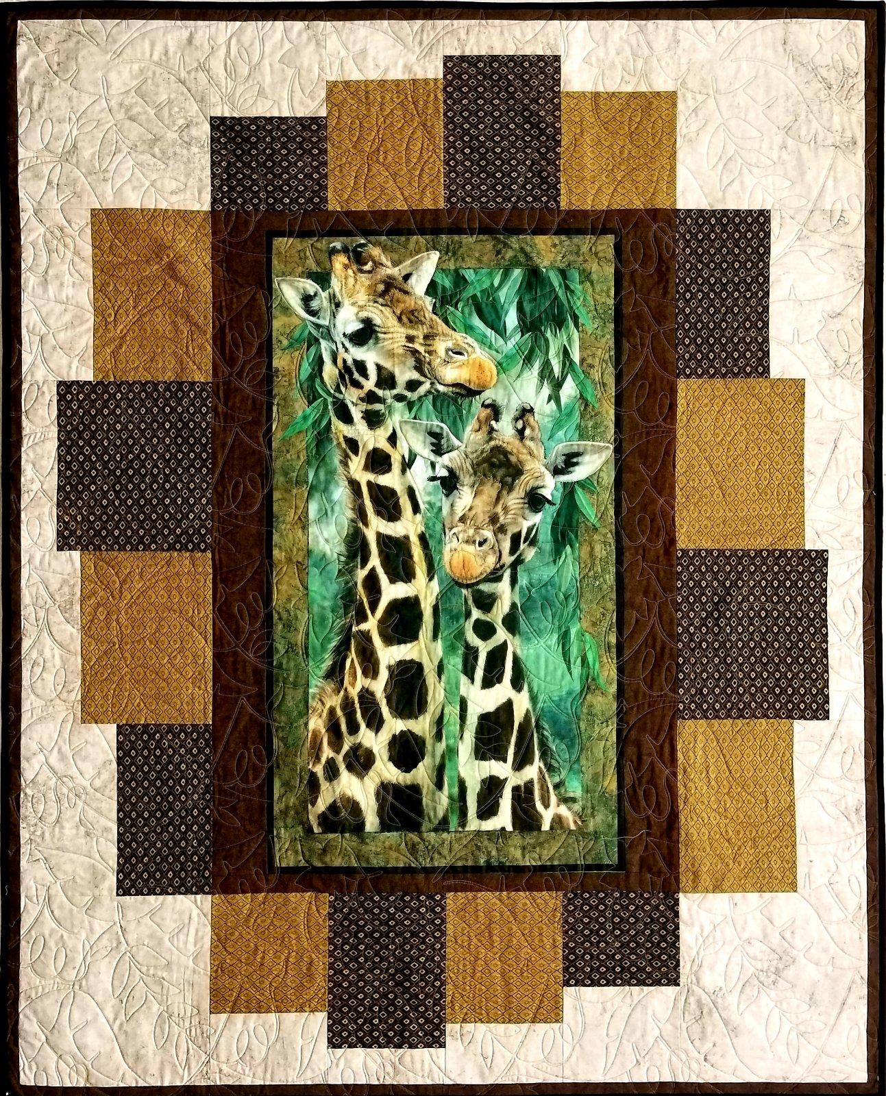 Giraffe Quilt/ Wall Hanging