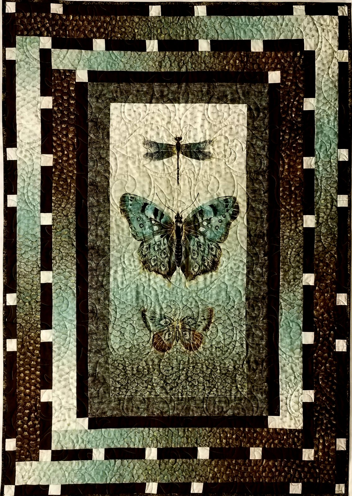 Flight of Fancy Quilt/ Wall hanging