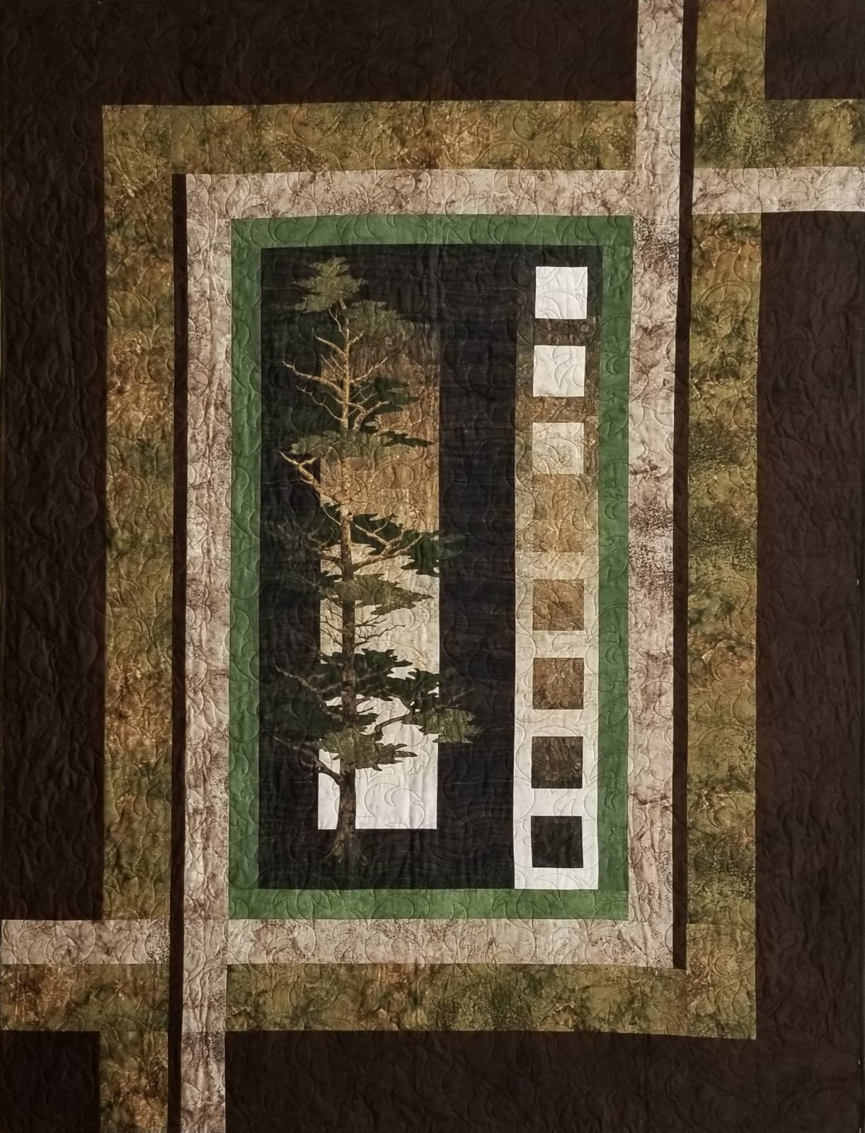 Northcott Mighty Pines Quilt Kit `