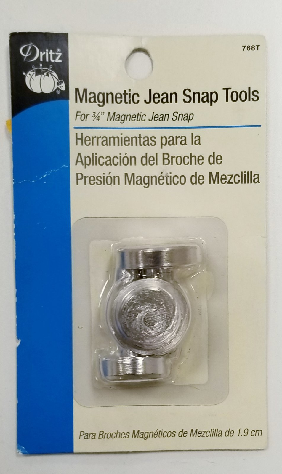 Magnetic Jean Snap Tool `