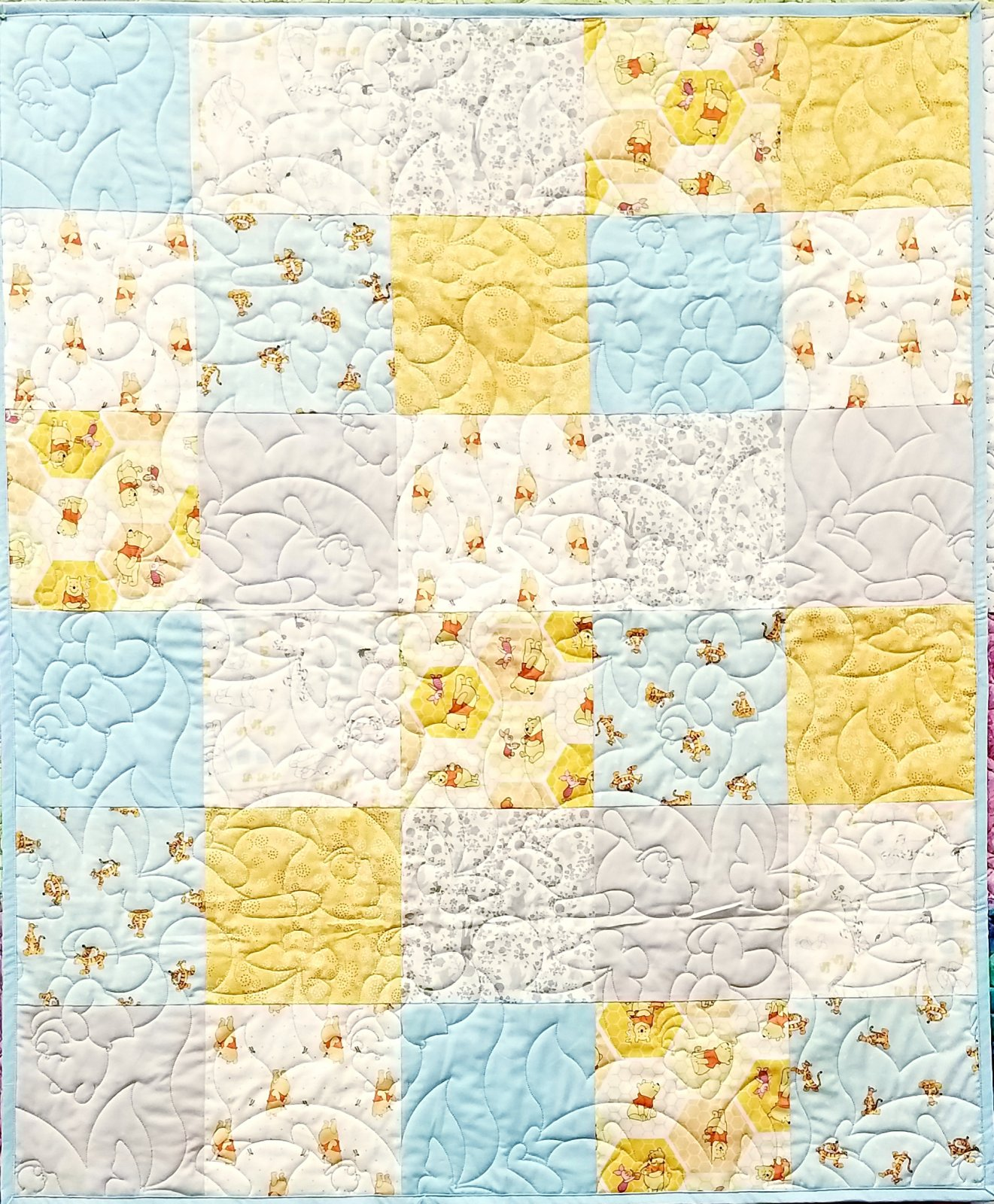 Winnie the Pooh Quilt Kit - Camelot Design Studio - Camelot Fabrics....